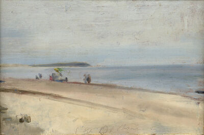 Edwin Dickinson, 'Small Beach View', 1946