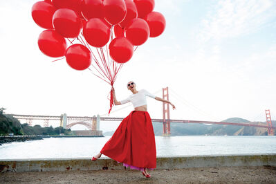 Liz Von Hoene, 'Red Balloons', 2020