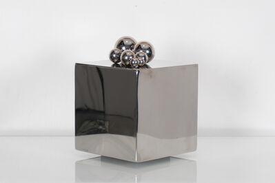 Pol Bury, '8 Boules Posées Sur Un Cube', 1968