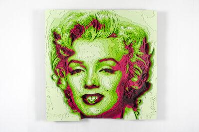 Octavian Mielu, 'Marilyn Monroe', 2018
