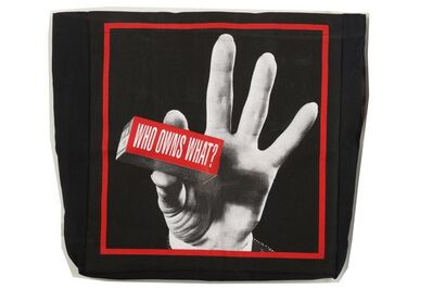 Barbara Kruger, 'Who Owns What? (Tate Modern Tote)', 2013