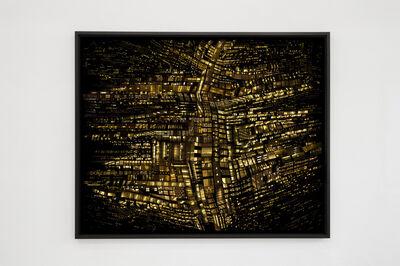Hubert Blanz, 'Urban Codes – Lichtdiagramm 03', 2018