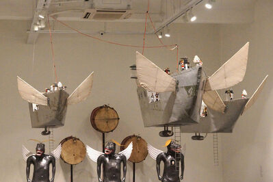 Heri Dono, 'The Trojan Ships', 2015