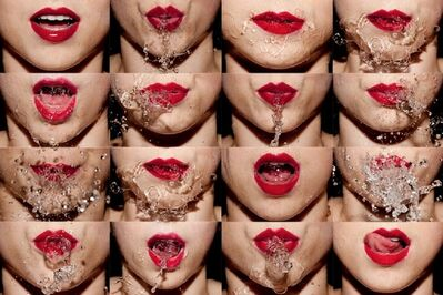 Tyler Shields, 'Water Mouth', 2012
