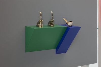 Haim Steinbach, 'Untitled (punches, pipe)', 2012
