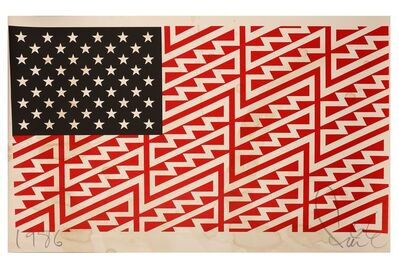 FAILE, 'Star Spangled Shadows', 2009