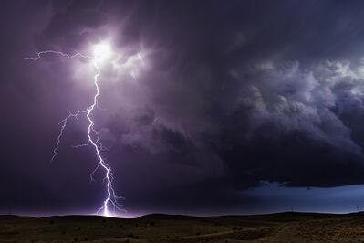 Eric Meola, 'Lightning Storm. Hyannis, Nebraska', 2013