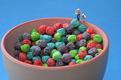 Christopher Boffoli, 'Cereal ball pit', 2011/2012