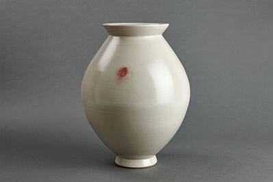 Young Jae Lee, 'Spindle vase, petalite, feldspar, and oak ash glaze', 2007