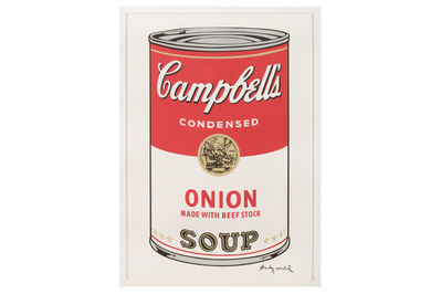 Andy Warhol, 'Campbell's Soup - Onion'