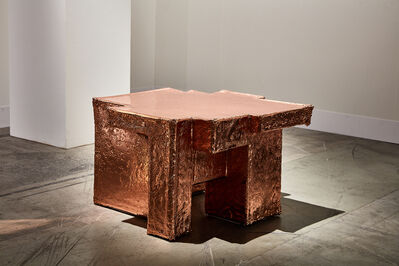 Nucleo, 'Metal Fossil Copper Coffee Table ', 2019