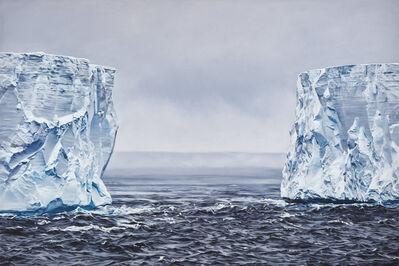 Zaria Forman, 'B-15Y Iceberg, Antarctica No. 2', 2019