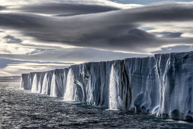 Paul Nicklen, 'Ice Waterfall', 2014