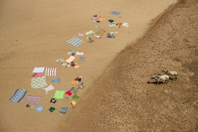 Cristina Mittermeier, 'Laundry on the Mandare'