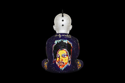 Metis Atash, 'Punk Buddha Purple Rain feat. Warhol', ca. 2019