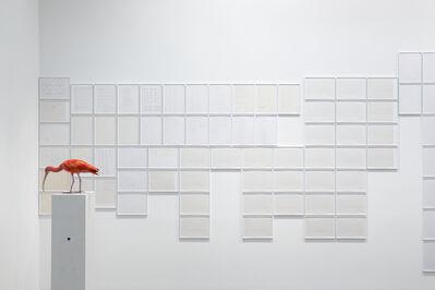 Michael Müller, 'K4-Schriftblätter (detail)', 1995-2014