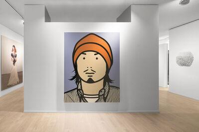 Julian Opie, 'Hirofumi with hat', 2005