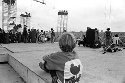 Baron Wolman, 'Woodstock 1969 Child Backstage', 1969