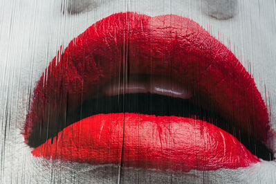 Martin Rondeau, 'Red Lips Geisha 2', 2018