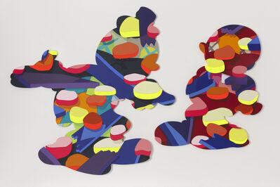KAWS, 'PASS THE BLAME', 2013