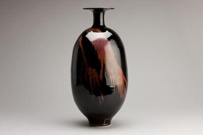 Brother Thomas Bezanson, 'Vase, honan tenmoku glaze', n/a