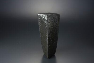 Masaya Yoshimura, '粉引ねじり黒羊かん', 2013