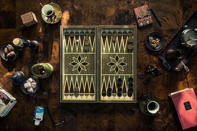 Christos J. Palios, 'Backgammon, Dates, & Rose Lokums', 2020