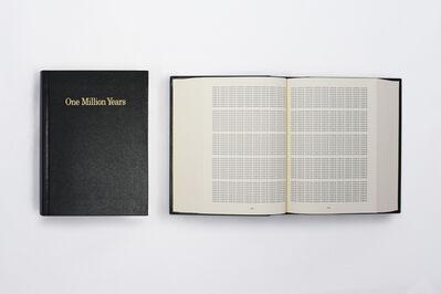 On Kawara, 'One Million Years ', 1999