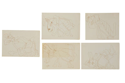 Rodolfo Nieto, 'Animales (five works)'