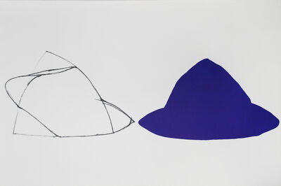 Joel Shapiro, 'Untitled (Double Purple)', 1979-1980