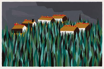 Jacob Lawrence, 'The Burning', 1997