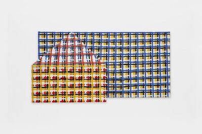 Jennifer Losch Bartlett, '3-D House, Grid', 1998-99