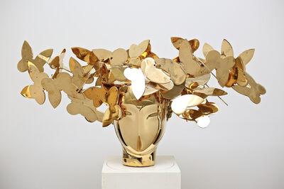 Manolo Valdés, 'Cabeza con Mariposas', 2018