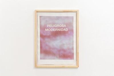 Luis Romero, 'Peligrosa Modernidad', 2013