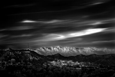 Mitch Dobrowner, 'Hollywood Hills', 2012