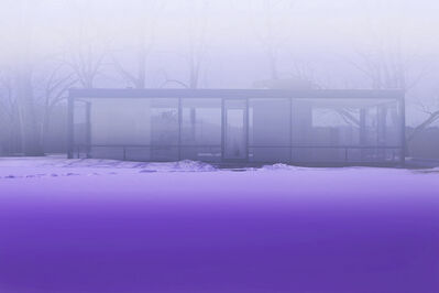 James Welling, 'Lavender Mist', 2014