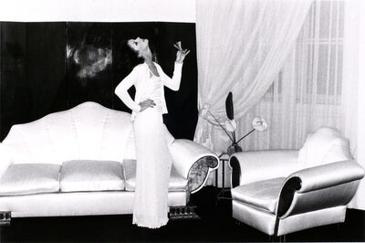 Helmut Newton, 'Chez Karl Lagerfeld, Paris', 1974