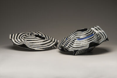 Diane Marimow, 'Sloping Mollusk Bowl I and II'