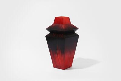 Studio Swine, 'Hair series accessories, Vase (red)', 2014