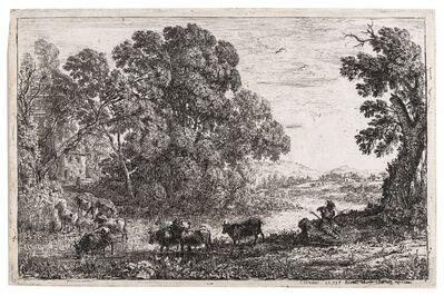 Claude Lorrain, 'Two works', cira 1650-1651