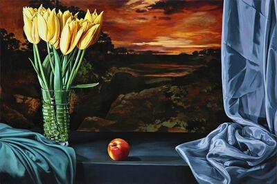 Sherrie Wolf, 'Nectarine with Yellow Tulips', 2016