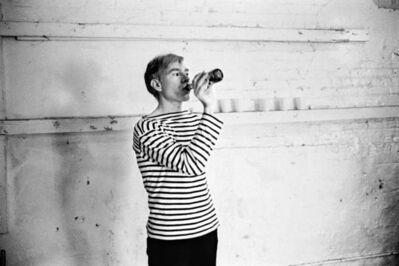 Stephen Shore, 'Andy Warhol', 1965