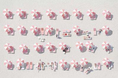 Jorge de la Torriente, 'Pink Umbrellas ', 2014