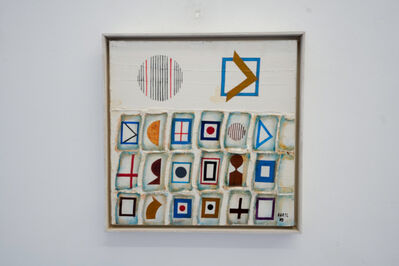 József Bartl, 'Signs', 1988