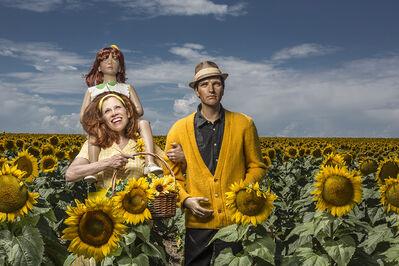 Suzanne Heintz, 'Sunflowers', 2015