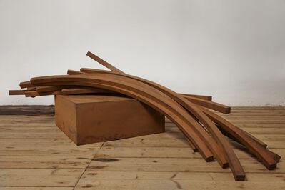 Bernar Venet, 'Arcs in Disorder: 82,5º Arc x 11', 2014