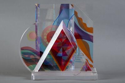 Yankel Ginzburg, 'Original Acrylic Sculpture - Signed', 1989