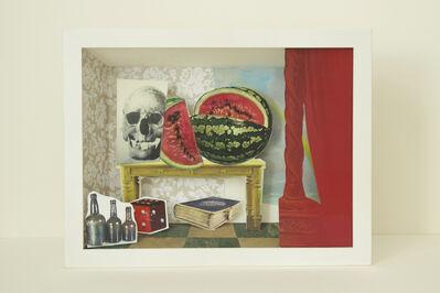David Elliott, 'Morning Bird w Roses', 2015