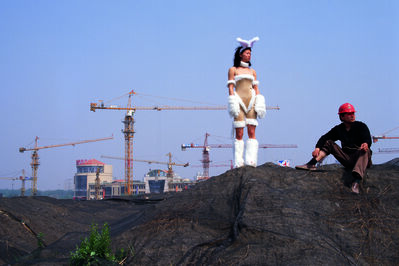 Cao Fei, 'Un-Cosplayer Series: Bunny's World', 2004