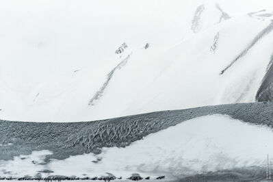 Leonard Sussman, 'Ash-Layered Glacier, Deception Island, South Shetland Islands, Antarctica', 2018